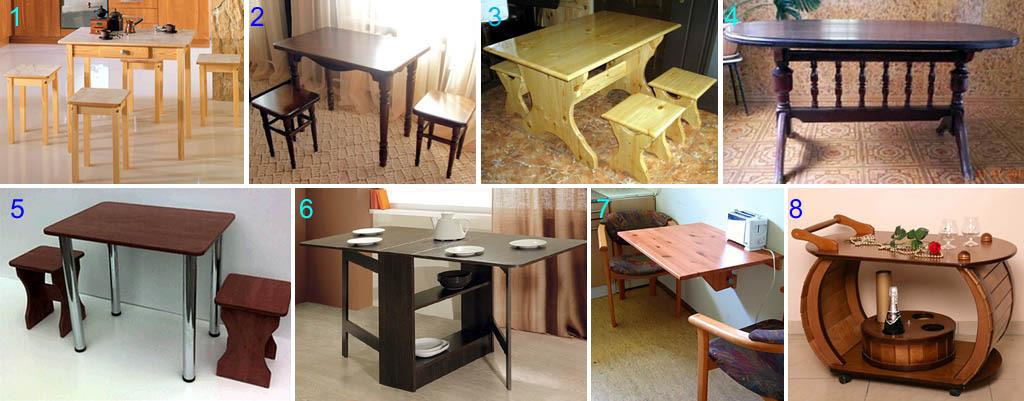 Самодельный кухонный стол своими руками 539
