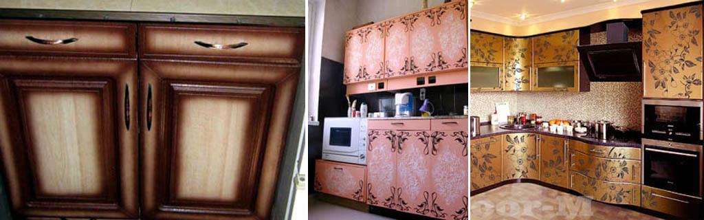 Отделка кухонного гарнитура