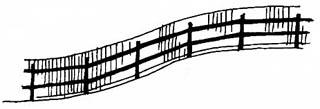 Забор из сетки рабицы своими руками: виды, установка