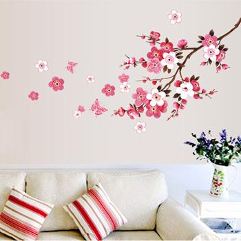 Рисунки цветов на стенах своими руками фото 893