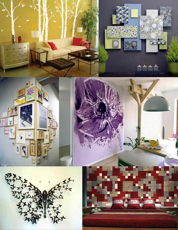 Примеры декора стен