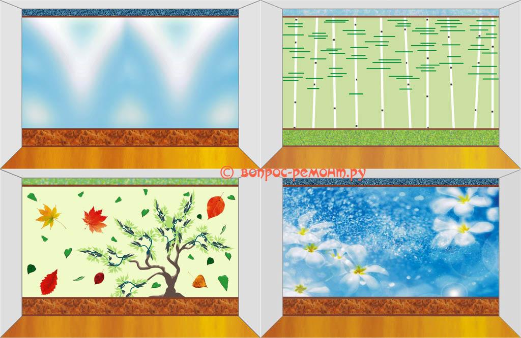 Примеры графического дизайна в программе векторной графики