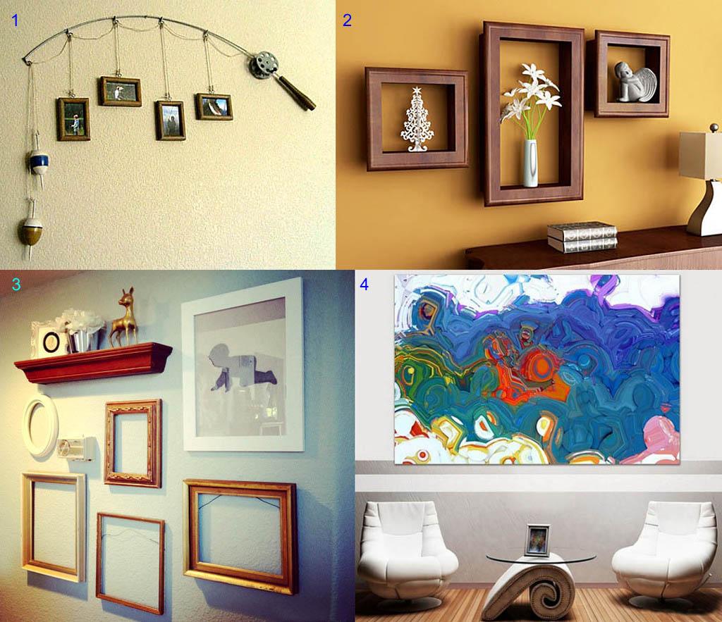 Примеры выражения личности в декоре стены
