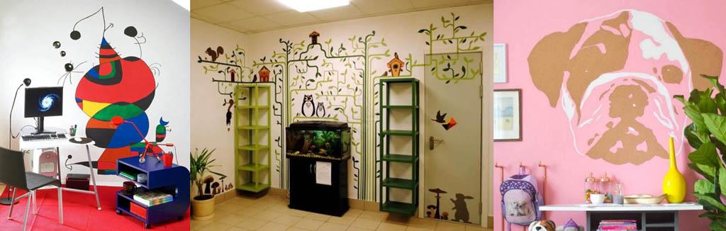 Как не надо расписывать детскую комнату