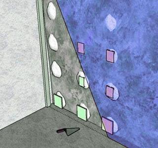 Маяки для обшивки стены гипсокартоном