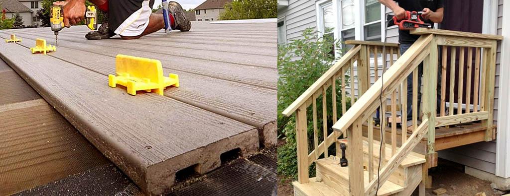 Особенности постройки деревянного крыльца