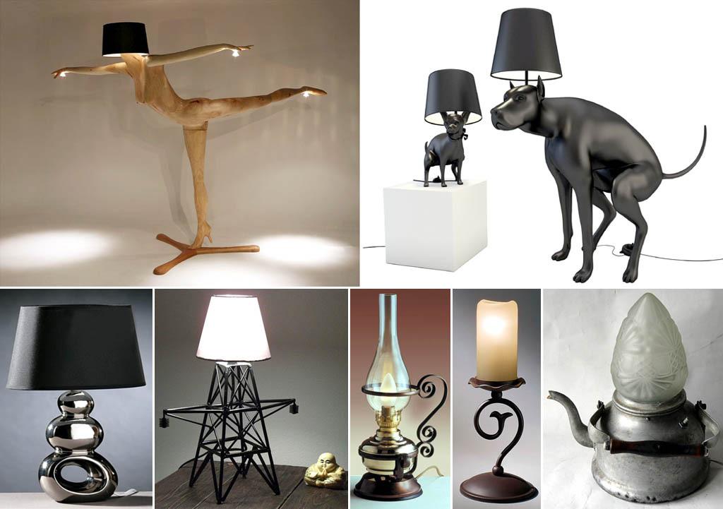 Недорогие настольные лампы до 2000 рублей - купить