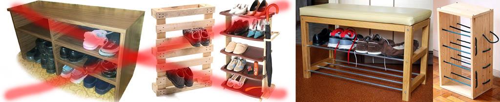 Неправильное и правильное хранение обуви
