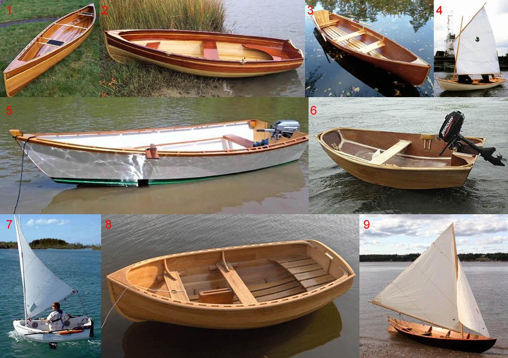 Виды лодок для разных условий плавания