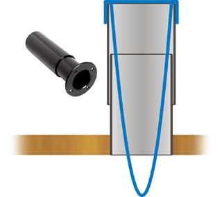 Готовая и самодельная трубы для резонаторов акустических систем