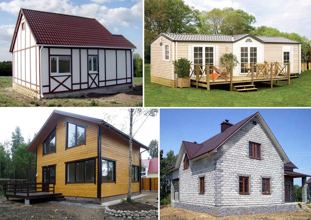 Дома индивидуальной постройки