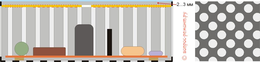 Конструкция индуктора (передатчика) беспроводной зарядки
