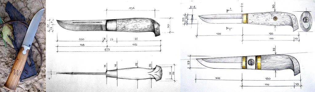 Финский нож и классические охотничьи ножи