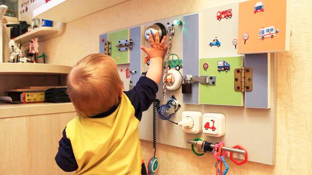 Развивающий центр для ребёнка своими руками 90