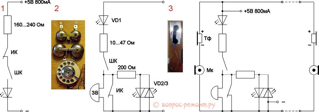 Схемы имитации действия телекоммуникаций на бизиборде
