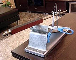 Доработка точилки для ножей Apex для заточки ножниц