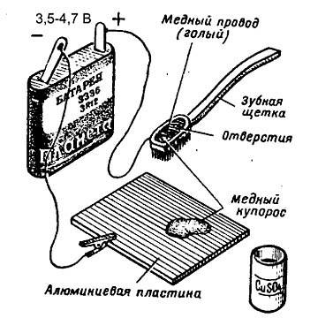 Как омеднить алюминий для пайки обычным припоем