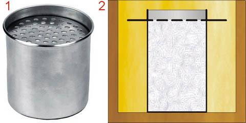 Горелка для мини-биокамина из кружки или подручных материалов