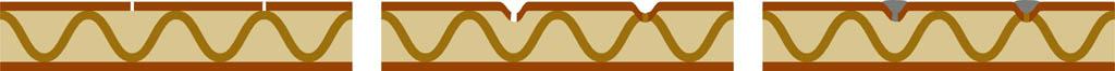 Как сделать имитацию кладочных швов на камине из коробок