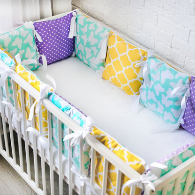 Шьем бортики в детскую кроватку своими руками фото 245