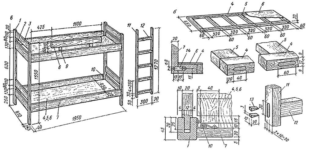 Кровати 1 5 спальные с ящиками своими руками 42
