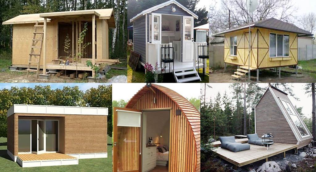 Как построить летний домик своими руками дешево 128