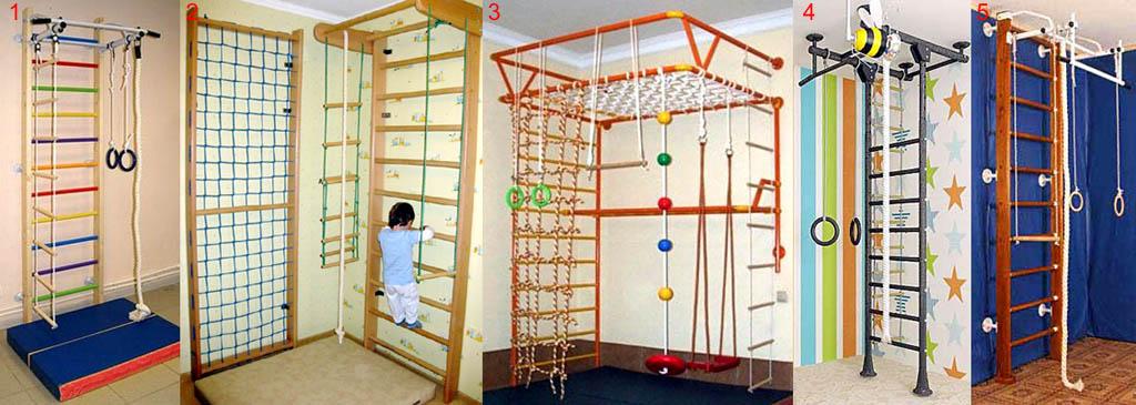 Главное и дополнительное оснащение бытового спортивного уголка. Методы крепления спортивного уголка в жилище (квартире) к строй системам.