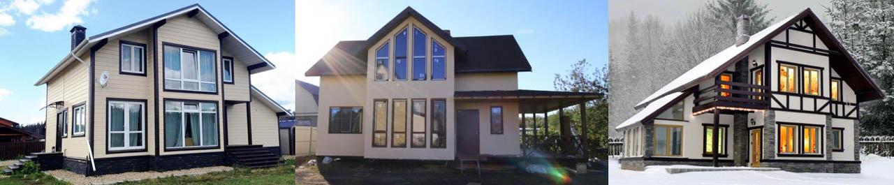 Дома из СИП с конструктивно связанными пристройками, увеличивающими их долговечность