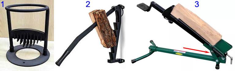 Простые дровоколы для подготовки небольшого количества дров