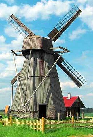 Частичная обшивка лопастей ветряной мельницы