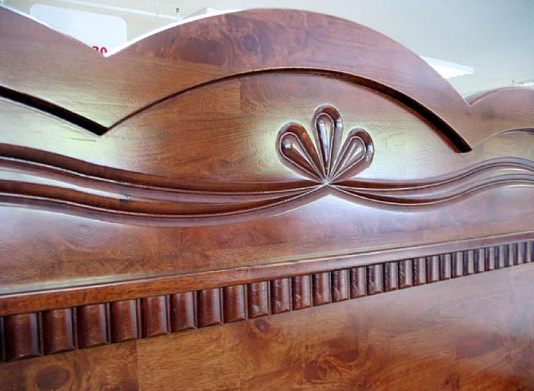 Детали мебели из массива гевеи
