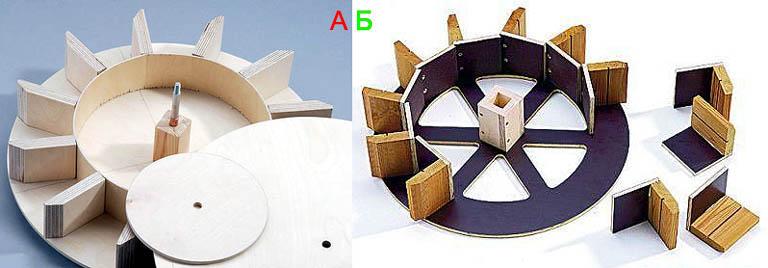 Как сделать рабочее колесо для декоративной водяной мельницы