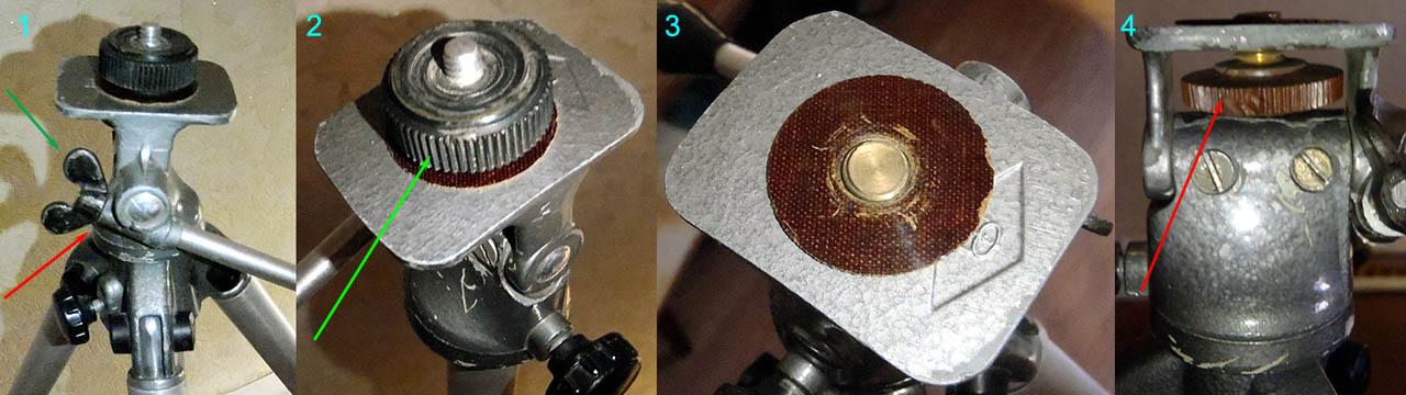 Особенности переделки в мольберт старого советского фотоштатива