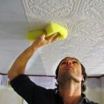 Поклейка плитки на потолок: выбор, расчет, варианты, порядок работ