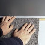 Как уложить ковролин: разными способами в различных помещениях
