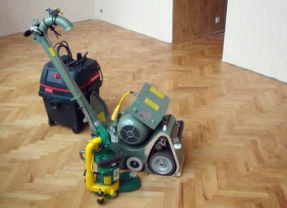 Оборудование для циклевки