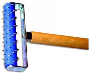 Игольчатый валик для гипсокартона
