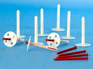 Зонтики (грибки) для крепления пенопласта