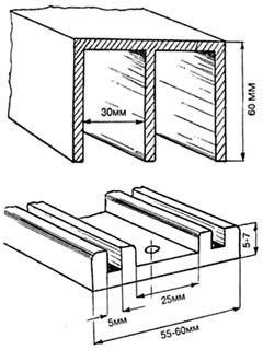 Направляющие для подвески с нижней опорой