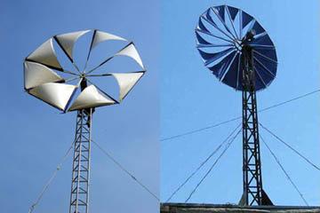 Парусные ветрогенераторы