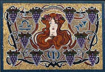 468684648468 Панно из мозаики своими руками: мозаичное и матричное панно для кухни