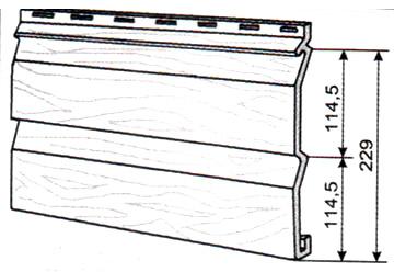 Размеры типового сайдинга
