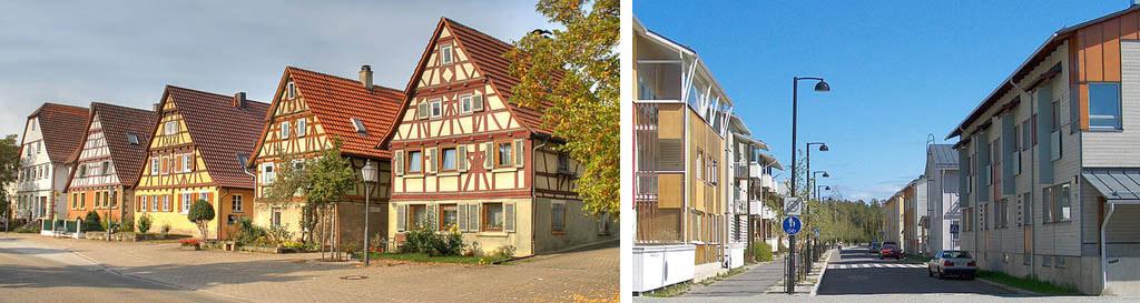 Старинные и современные каркасные дома