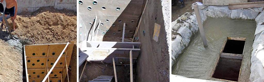 Строительство бетонного септика своими силами