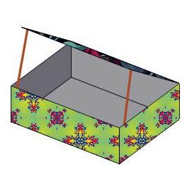 Кормушка-домик из коробки