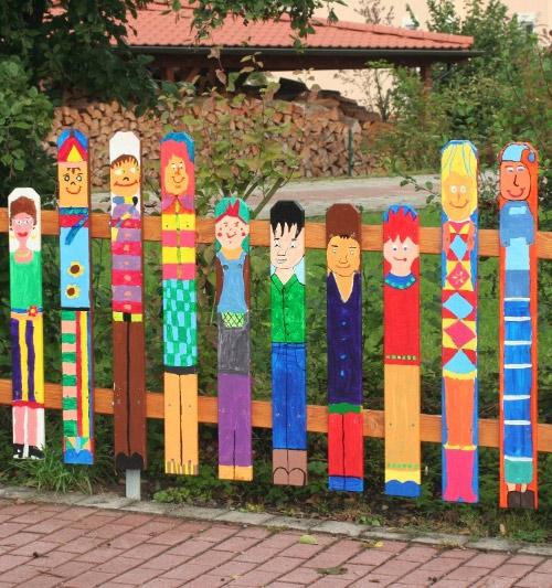 Ограждение детской площадки