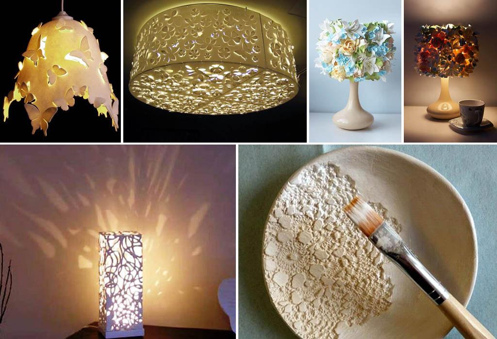 Светильники из полимерной глины (пластики)
