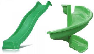 Пластиковые скаты для детских горок
