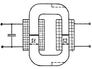 Сварочный трансформатор на стержневом магнитопроводе с разнесенными обмотками