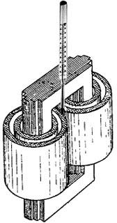 Измерение рабочей температуры сварочного трансформатора